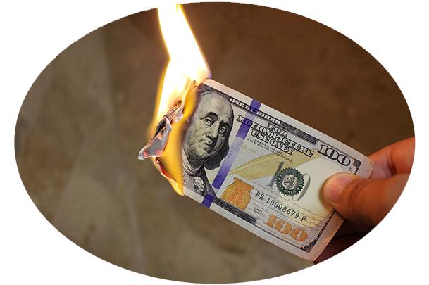 burning money mistakes