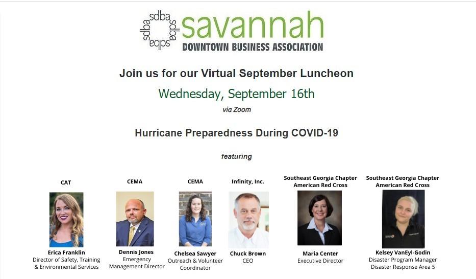 SDBA Hurricane Prep panel