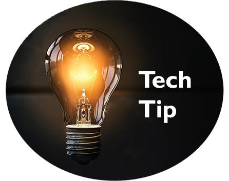 lightbulb for tech tip