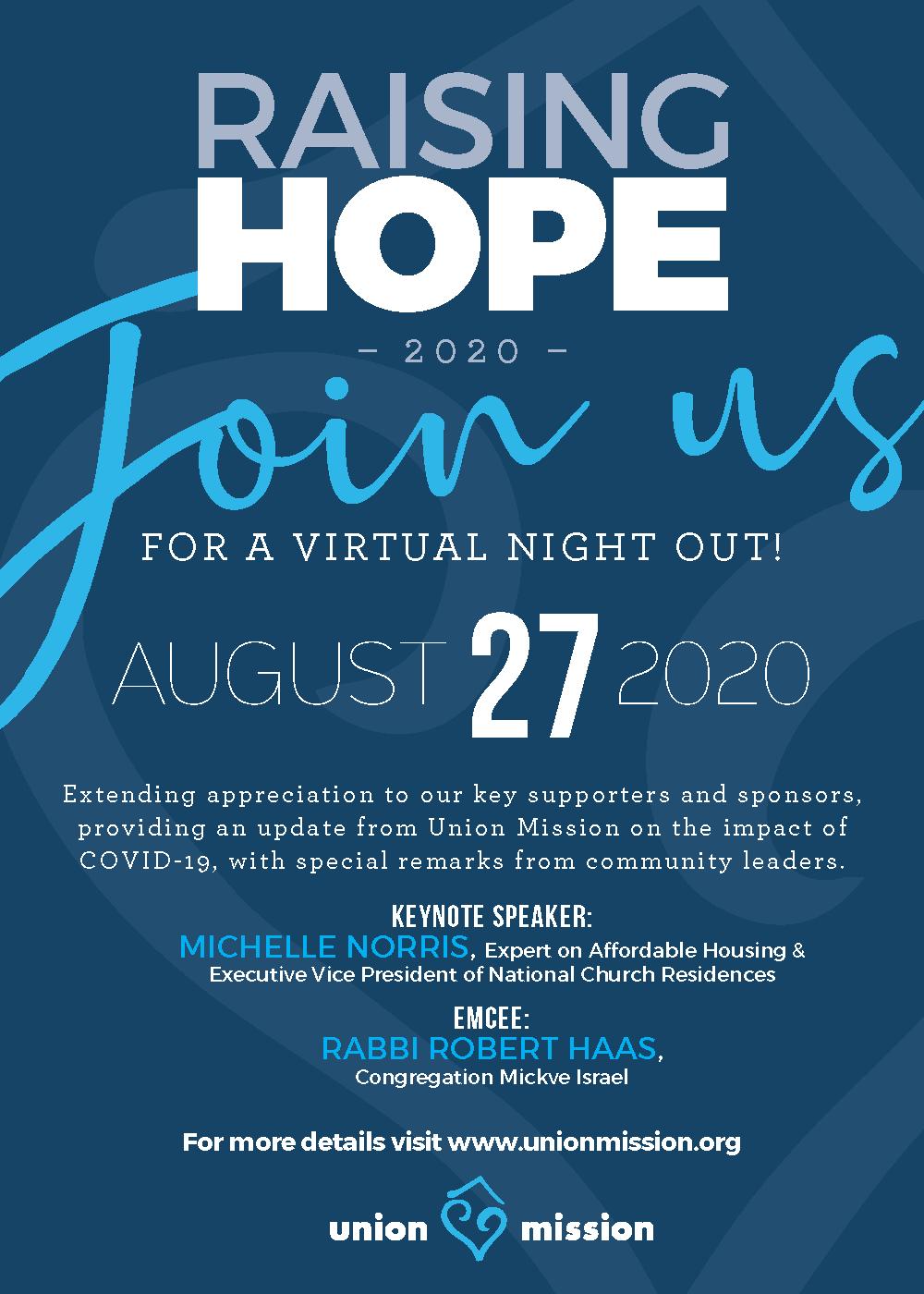 Raising Hope invitation