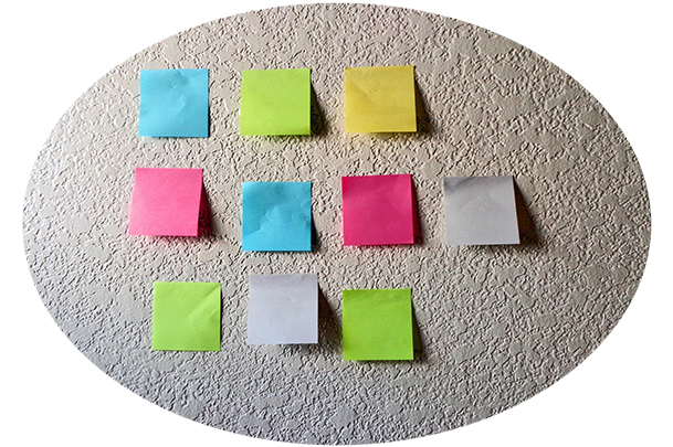 sticky notes - MS Planner